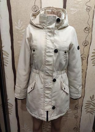 Vero moda шикарная утепленная парка, куртка