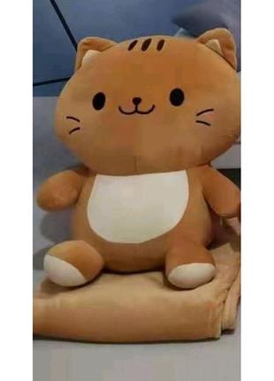 Продам игрушка плед подушка Кот