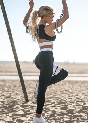 Костюм спортивный женский для фитнеса, спорта, бега, йоги. раз...