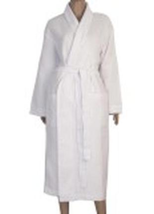 Халат вафельный люкс ярослав белый 44 - 62 размер