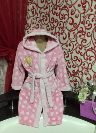 Нежный ,теплый, мягкий халат-пушистик *принцесса* из велсофта ...