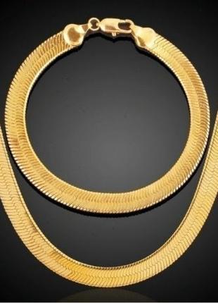Золотое ожерелье-цепочка 18к - Коллекция 2019 !