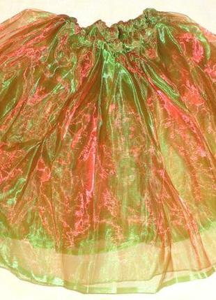 Фатиновая юбка пачка 7-10 лет