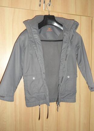 Куртка демисезонная outventure для мальчика 128 рост