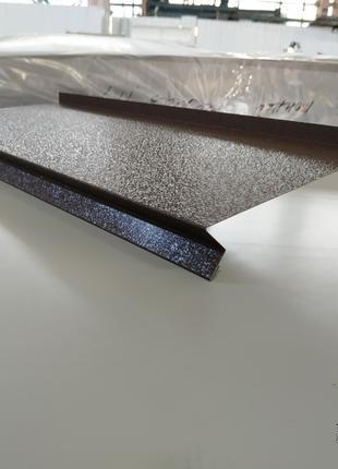 Отвив оконный из метала с полимерным покрытием, купить отлив цена