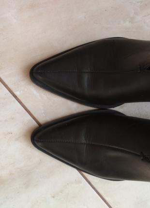 Шкіряні черевички Zara