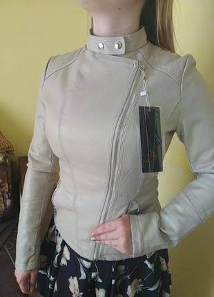 Кожанка косуха куртка пиджак lanmas