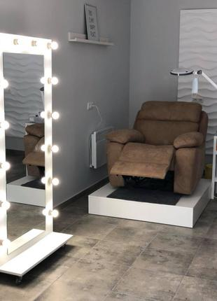 Кресла Реклайнеры для салона красоты с электроприводом