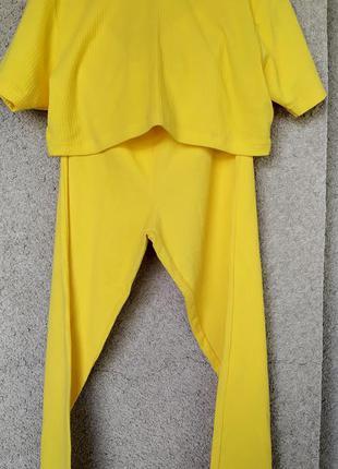 Комплект женский спортивный костюм летний в стиле casual