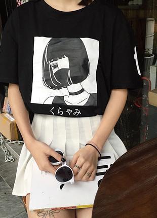 Женская футболка в стиле аниме