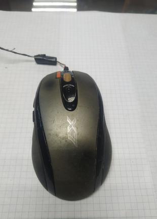 Мышь игровая USB и PS/2 A4Tech X-750F-1 - оптическая