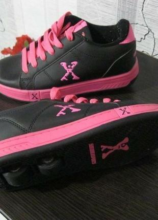 Hellys колоботы роликовые кроссовки на колесиках скейт ролики ...