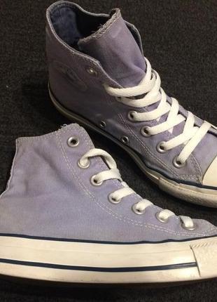 Converse all star chuck taylor высокие кеды кроссовки