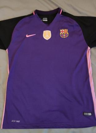 Спортивная футболка мужская nike фк барселона (месси)