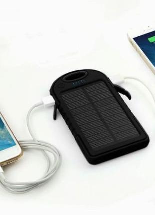 PowerBank 50000 mAh на солнечной батареи