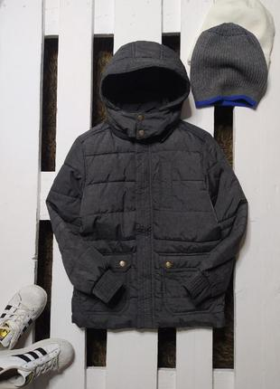 Стильна подовжена курточка vogele ріст 128