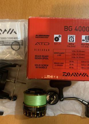 Катушка DAIWA BG 4000 (б/у)
