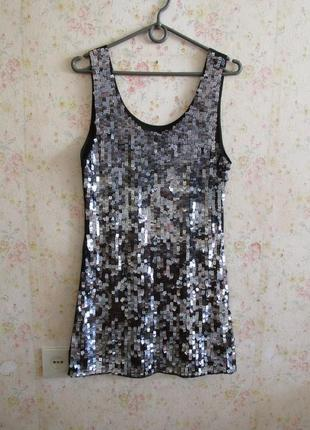 Маленькое черное платье-туника