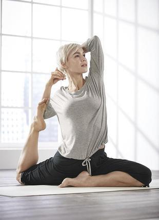 Мягкие штаны wellness капри для йоги и релакса 42-44 германия ...