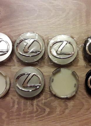 Колпачки в диски (заглушки в диски) Lexus Лексус
