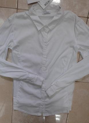 Мягкая комбинированная рубашка из хлопка для беременных м-л ma...
