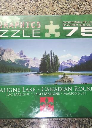 "Пазлы Eurographics ""Канадские озера"" 750 эл."