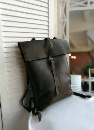 Рюкзак, сумка городского типа ручной работы