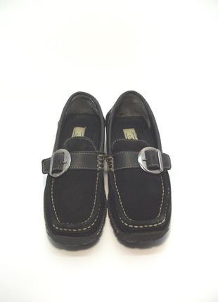 Женские замшевые туфли janet d. р. 35-36