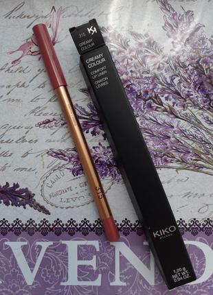 Creamy colour comfort lip liner стойкий карандаш для губ kiko ...