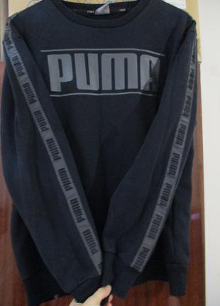 Худи Puma с лампасами