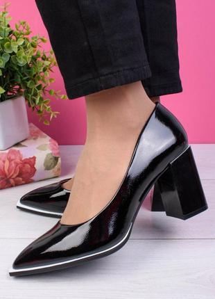 🛍 оригинальные туфельки на устойчивом каблучке