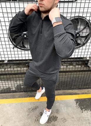 Спортивный костюм мужской оверсайз серый / комплект чоловічий ...