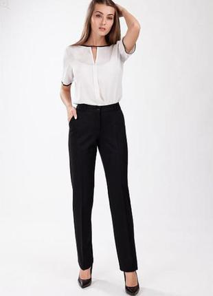 Черные классические брюки. офисные черные брюки м