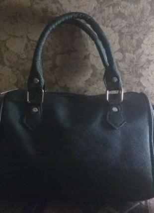Женская сумка чёрная