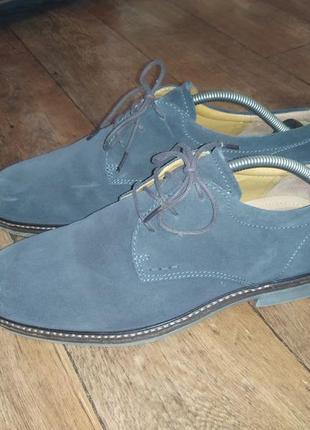 Замшевые туфли ecco р.42