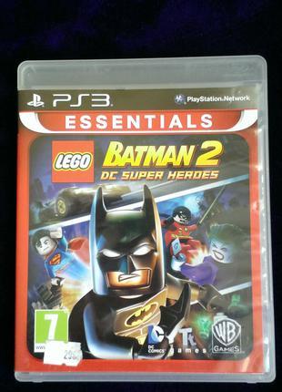 LEGO Batman 2 DC Super Heroes (русский язык) для PS3