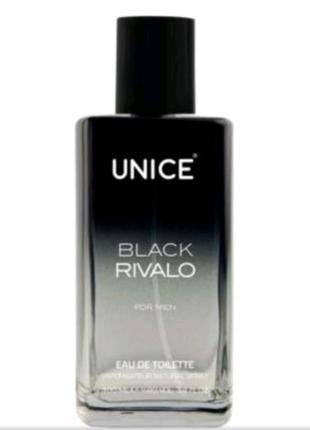 Мужская туалетная вода Unice Black rivalo 100мл