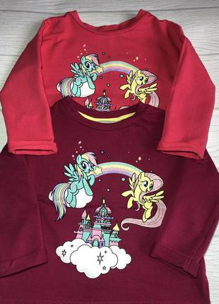 "Набор 2 шт.свитшот, свитер, джемпер ""my little pony"""