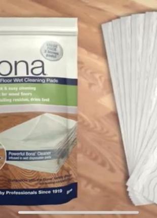 Салфетки для влажной уборки bona