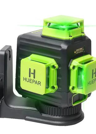 3D лазерный уровень Huepar B03CG в PRO комплектации +жесткий кейc