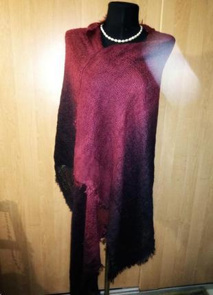 Палантин,шарф mossimo красно-чёрный
