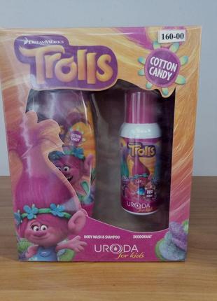 Набор детской косметики bi-es trolls cotton candy,
