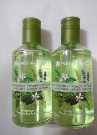 Туалетная вода флердоранж-лаванда-петигрен ив роше yves rocher