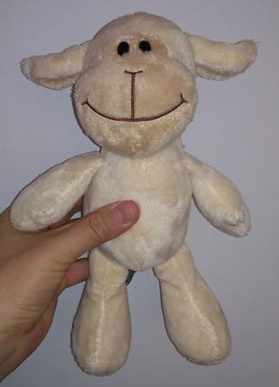 Овечка овца белая бежевая Kinder