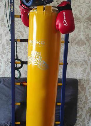 Боксерский мешок(груша)перчатки ,шлем(детский,юношеский)