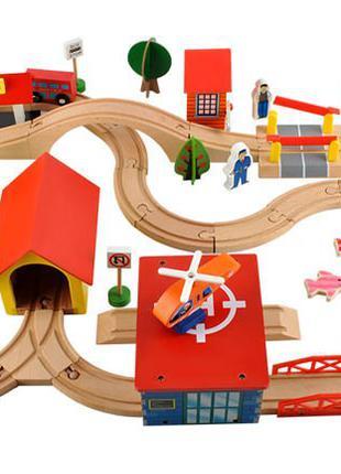 Детская деревянная дорога, деревянная железная дорога