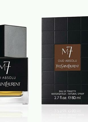 Туалетная вода для мужчин Yves Saint Laurent M7 Oud Absolu