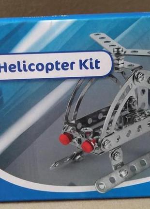 Металлический конструктор вертолет playtive junior с инструмен...