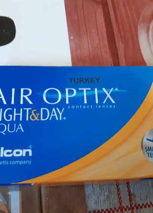 Линзы air optix night &day(-3)
