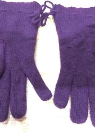 Легкие шерстяные перчатки